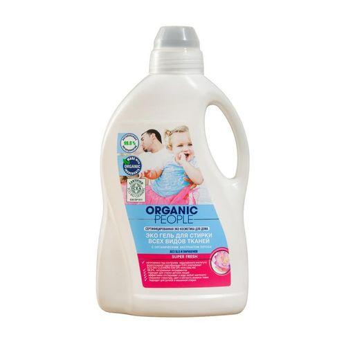 Organic people ЭКО Гель для стирки всех видов тканей 15л.