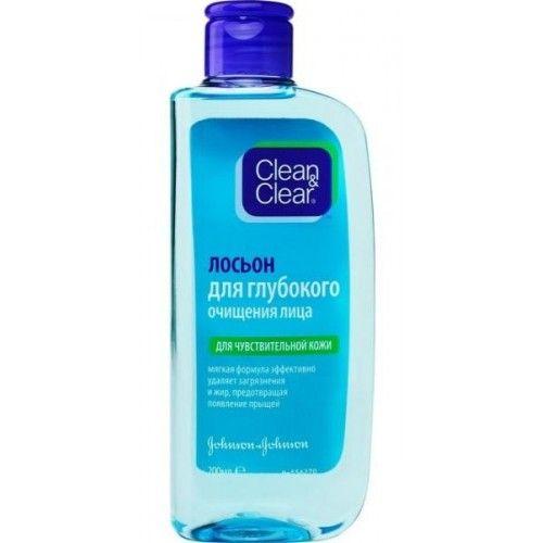 Clean&Clear Лосьон для глубокого очищения лица для чувствительной кожи 200мл, Clean & Clear  - Купить