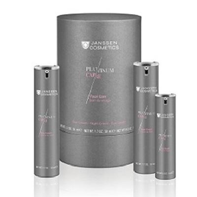 Купить Янссен/Janssen Набор Face Care c пептидами и коллоидной платиной 3 позиции J1299