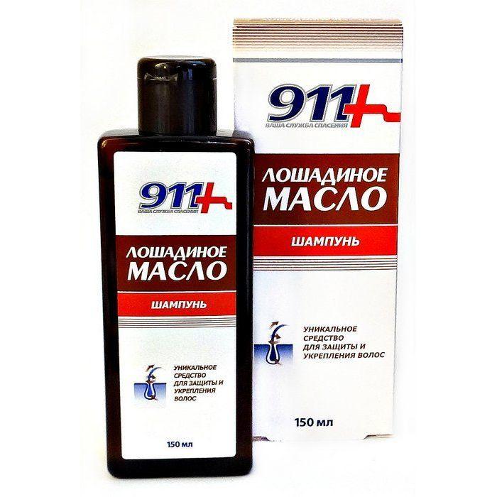 Купить 911 Лошадиное масло шампунь для всех типов волос 150 мл