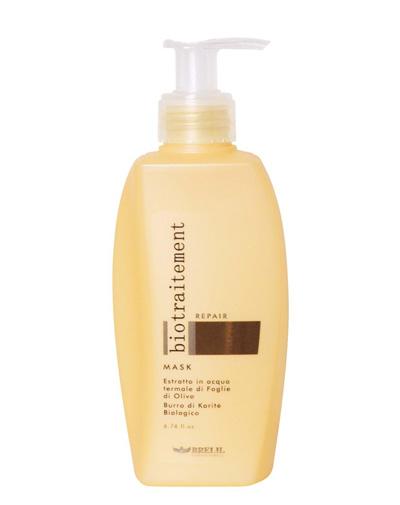 Купить Brelil Маска восстанавливающая для сухих волос Bio Traitement Repair Mask 200 мл, Brelil professional