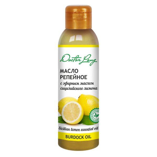 Dr.Long Масло репейное с эфирным маслом сицилийского лимона 100мл