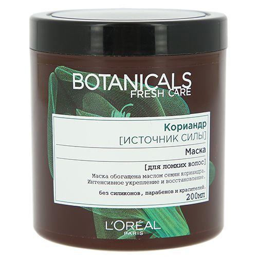 Купить Loreal Botanicals Coriander Маска для повреждённых волос 200мл, Loreal Paris
