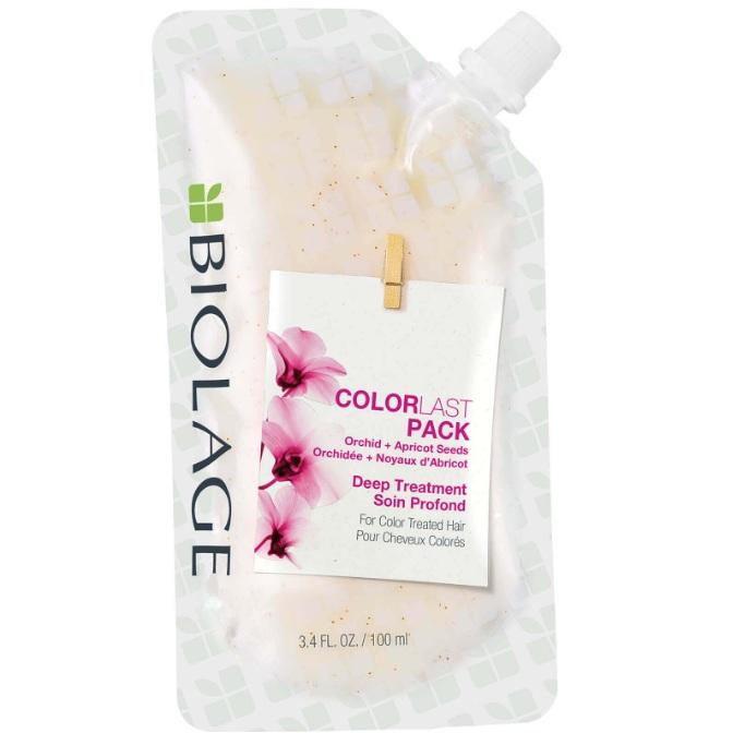 Купить Matrix Биолаж Colorlast Deep Treatment Pack Маска-концентрат для глубокого восстановления окрашенных волос 100мл
