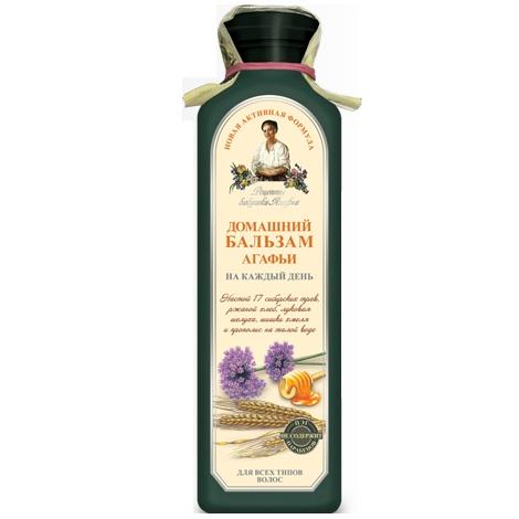 Купить Рецепты Бабушки Агафьи Бальзам для волос Домашний на каждый день для всех типов 350мл, Рецепты бабушки Агафьи