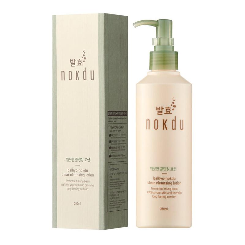 Balhyo nokdu clear cleansing lotion прозрачный лосьон для глубокого очищения пор 250мл
