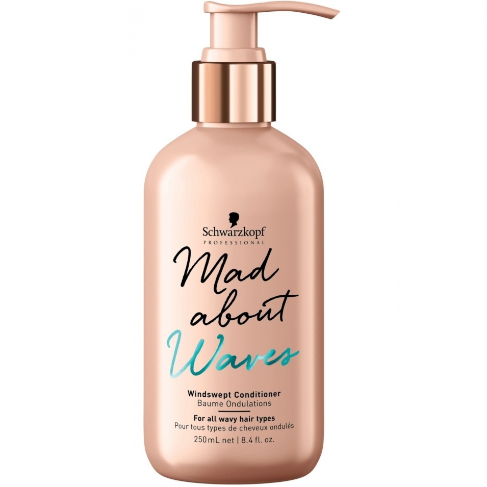 Schwarzkopf mad about waves кондиционер для