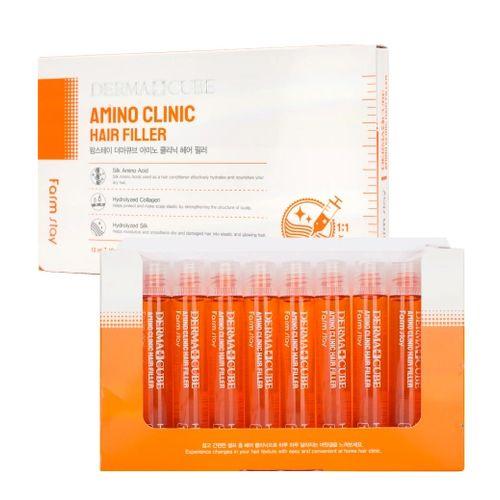 Купить FarmStay Интенсивный филлер для волос с аминокислотами 10 ампул по 13мл, Farm Stay