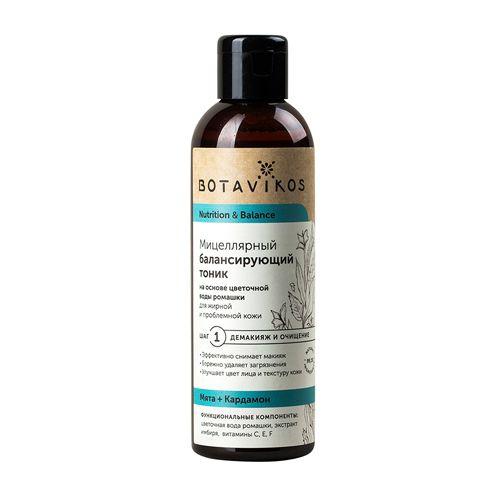 Botavikos Питание и Баланс Тоник мицеллярный балансирующий для жирной и проблемной кожи лица 200мл