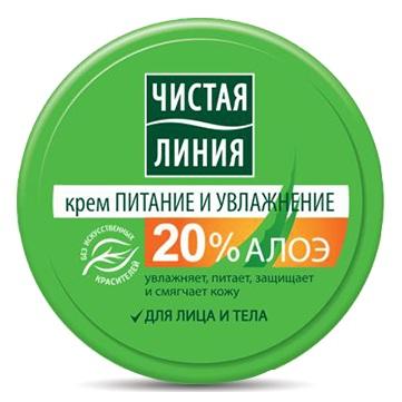 Купить Чистая Линия Крем для лица и тела Питание и увлажнение 50мл, Чистая линия