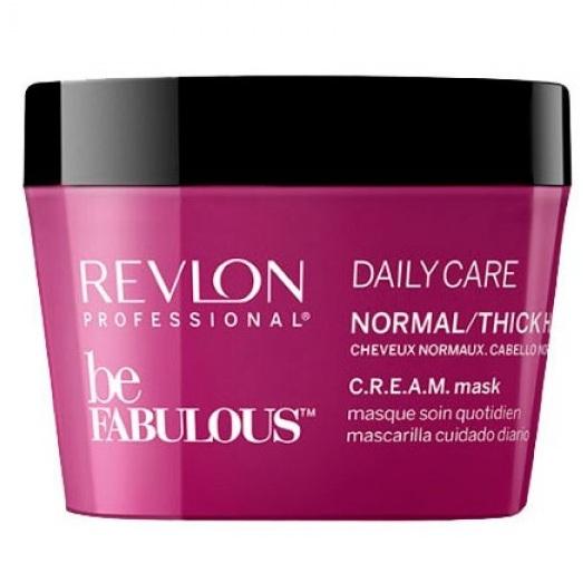 Купить Revlon (Ревлон) Be Fabulous Маска C.R.E.A.M. для нормальных/густых волос 200мл