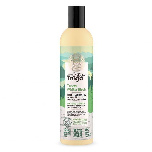 Натура Сиберика Doctor Taiga Био Шампунь для супер свежести и объема волос 400мл