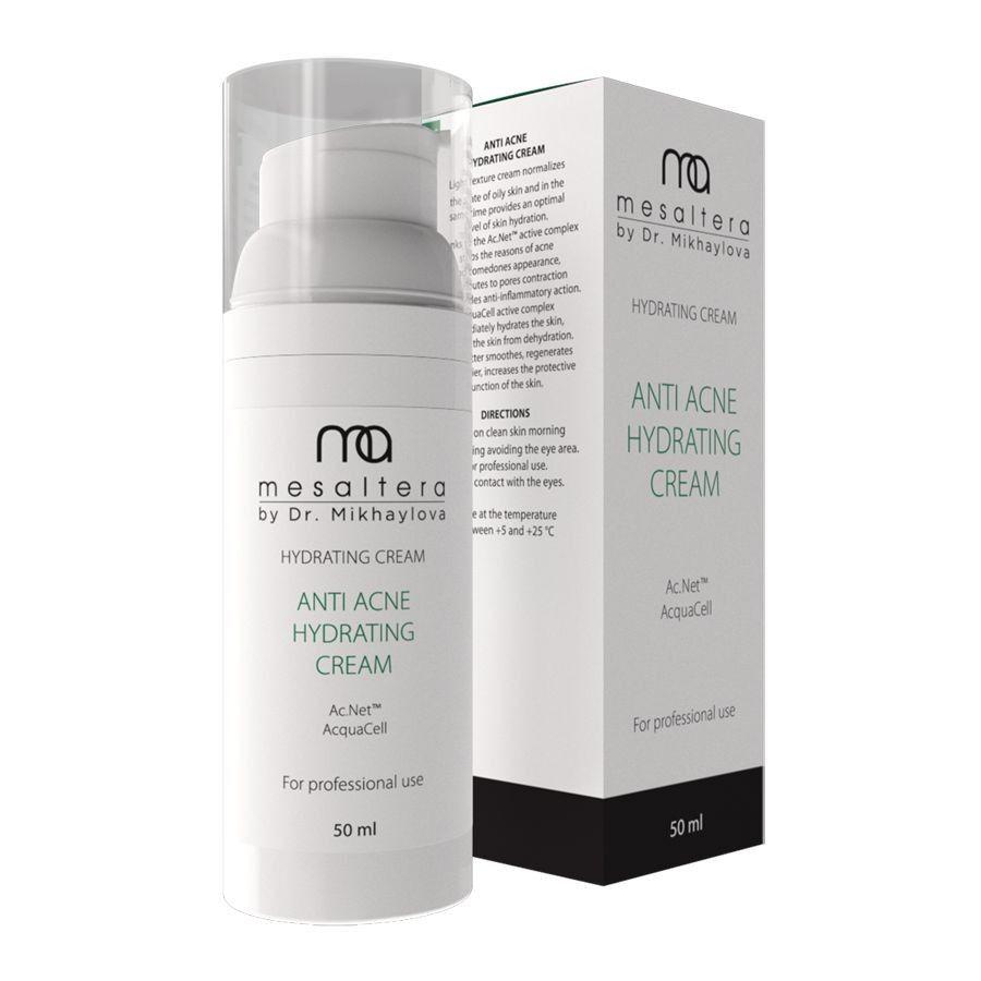 Купить MESALTERA by dr. Mikhaylova Anti Acne Hydrating cream Крем для проблемной и жирной кожи 50мл