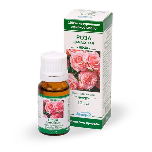 Аспера масло роза эфирное 10мл