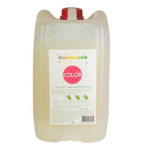 Купить Freshbubble Гель для стирки цветного белья 5000мл