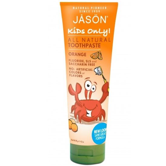 Купить Jason Детская зубная паста апельсиновая 119 г