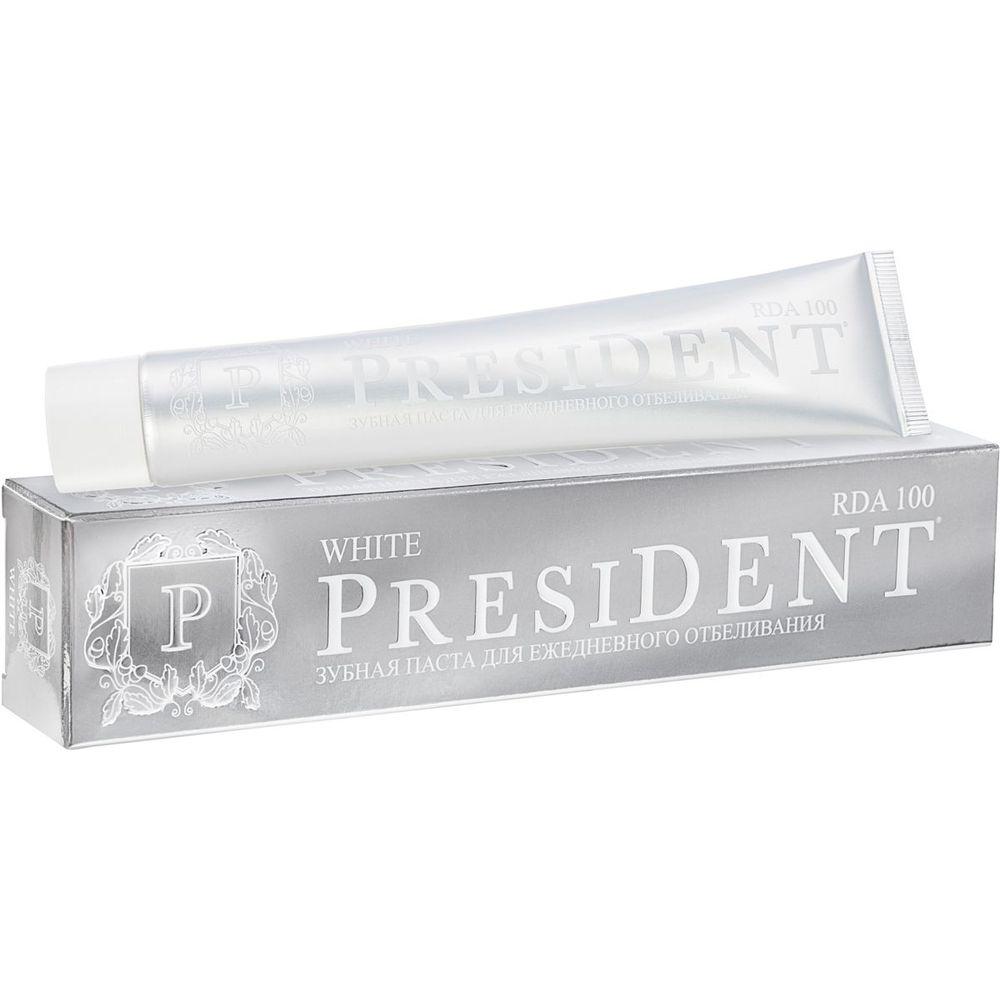 Купить President White зубная паста 75мл