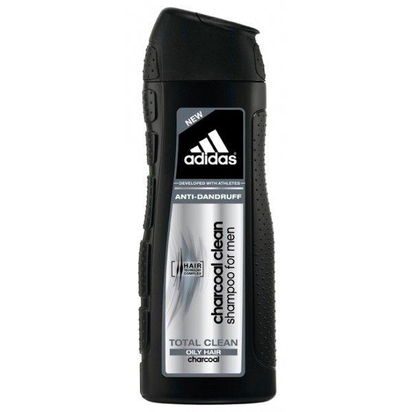 Adidas charcoal clean Абсолютная Чистота шампунь против перхоти для жирных волос для мужчин 200мл от Лаборатория Здоровья и Красоты