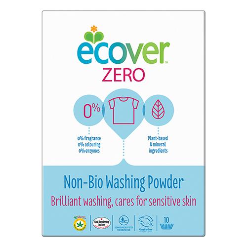 Эковер стиральный порошок-ультраконцентрат zero non bio