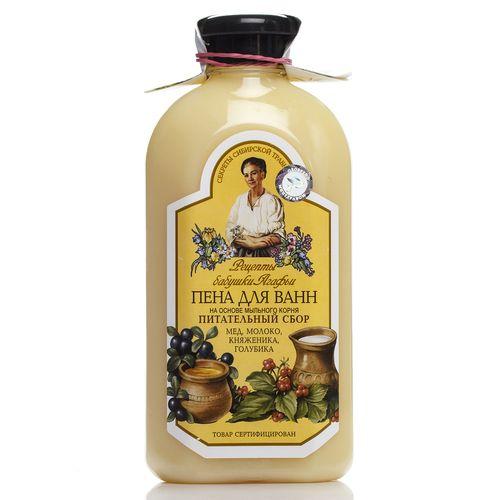 Купить Рецепты бабушки Агафьи Пена для ванн питательная 500мл.