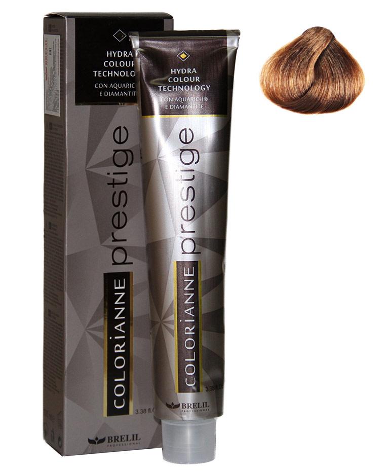 Купить Brelil Крем-краска Colorianne Prestige 6/39 Тёмный блондин саванна 100 мл, Brelil professional