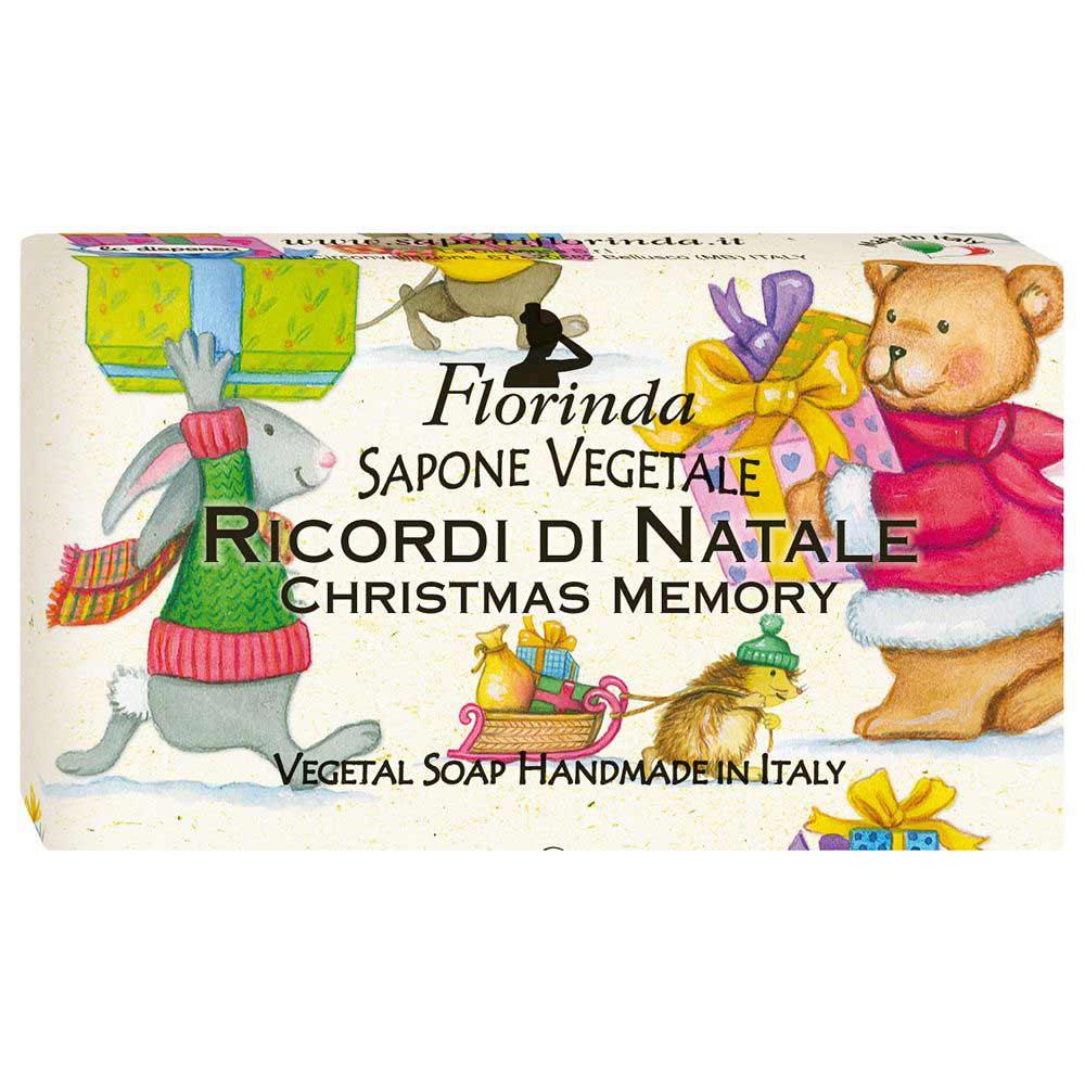 Florinda мыло Счастливого Рождества Ricordi Di Natale Рождественские Воспоминания 100г фото
