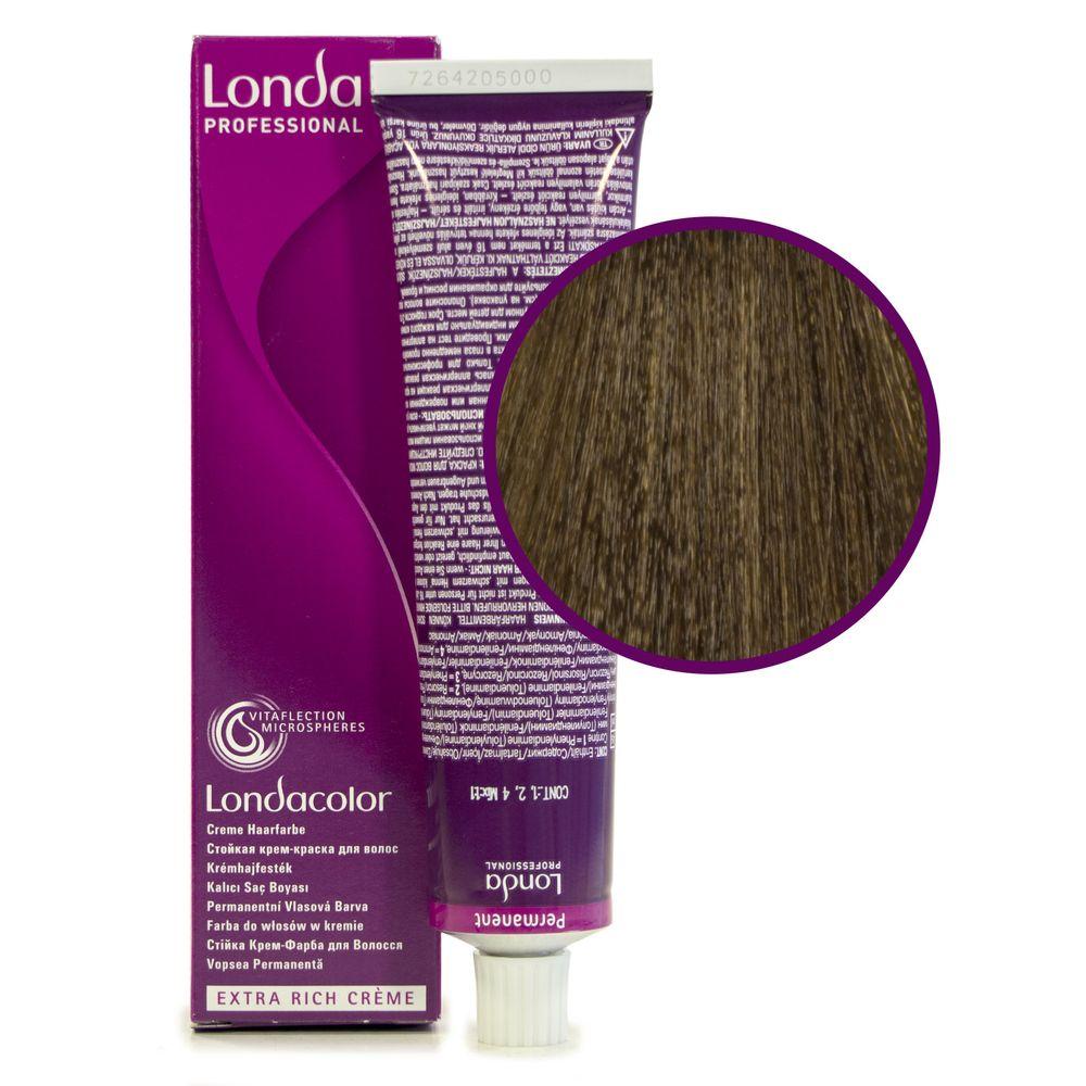 Londa Color 7/0 блонд стойкая крем-краска 60мл LONDA PROFESSIONAL