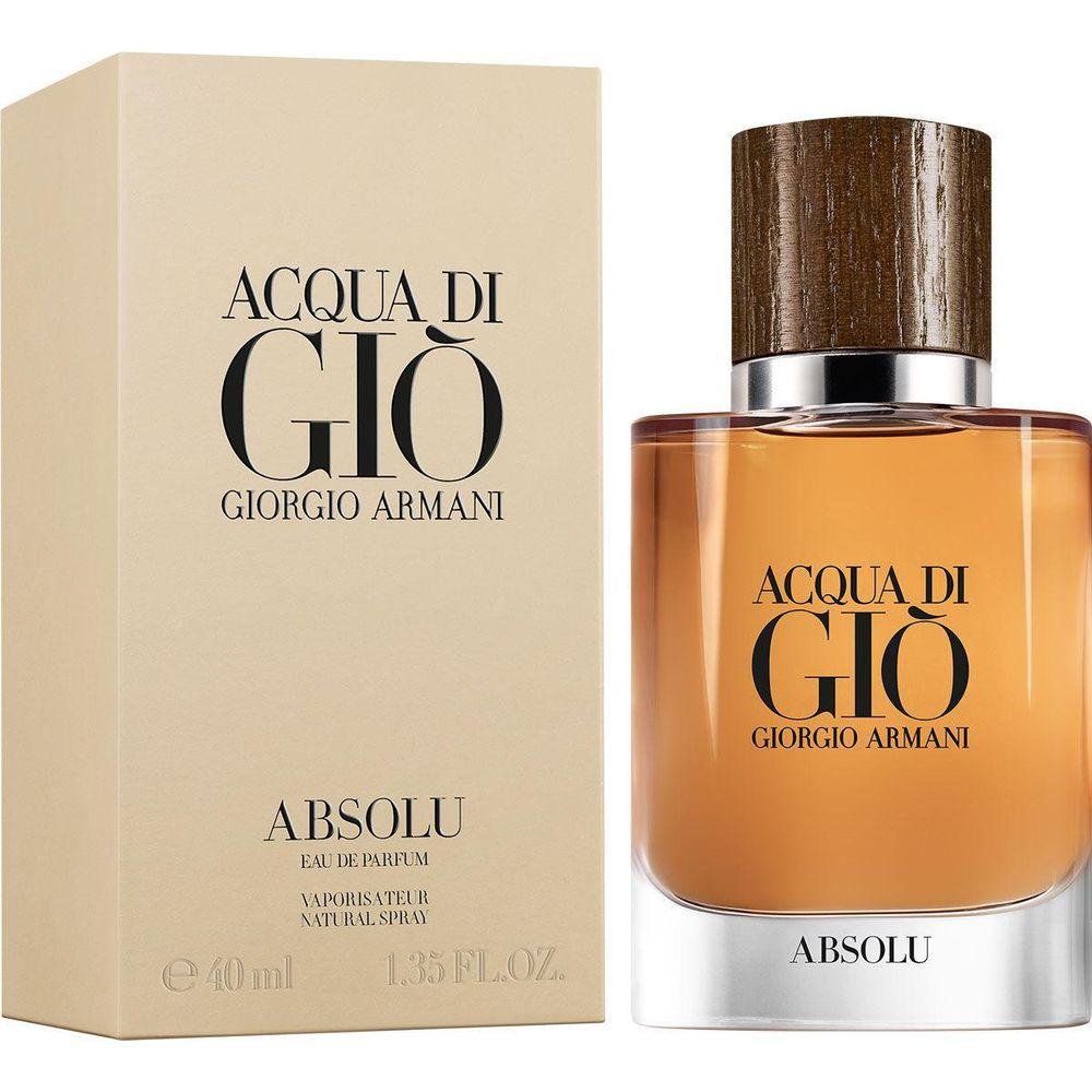 GIORGIO ARMANI ACQUA DI GIO ABSOLU парфюмерная вода мужская 40мл фото
