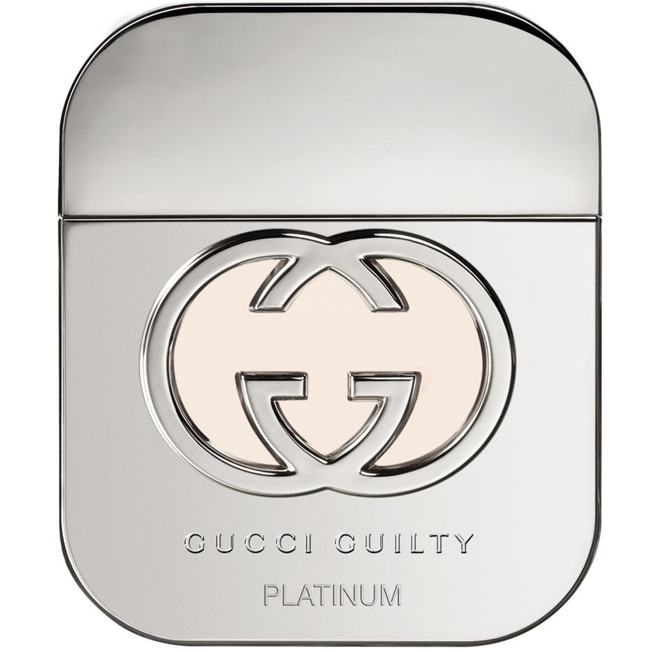 GUCCI GUILTY PLATINUM вода туалетная жен 50 ml