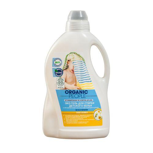 Купить Organic people ЭКО Гель для стирки детского белья 1, 5л