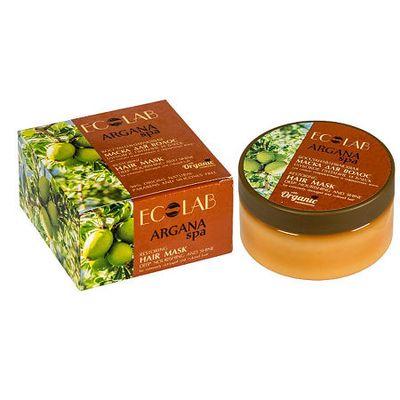 ECOLAB SPA Argana Маска для сильно поврежденных и окрашенных волос Глубокое питание и блеск 200 мл