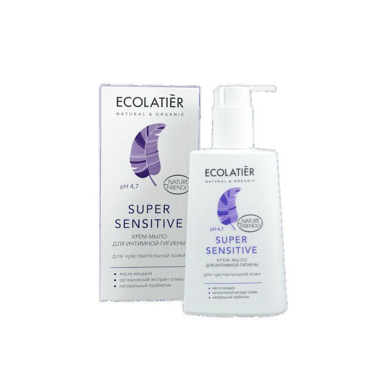 Купить Ecolatier Крем-мыло для интимной гигиены Super Sensitive для чувствительной кожи 250 мл