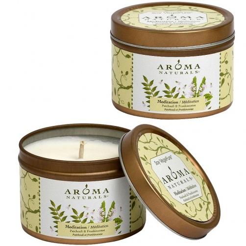 Купить Aroma Naturals Свеча Медитация 80 г банка