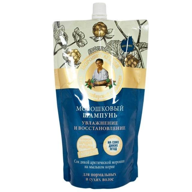 Купить Рецепты Бабушки Агафьи Шампунь для волос Морошковый увлажнение и восстановление 500мл, Рецепты бабушки Агафьи