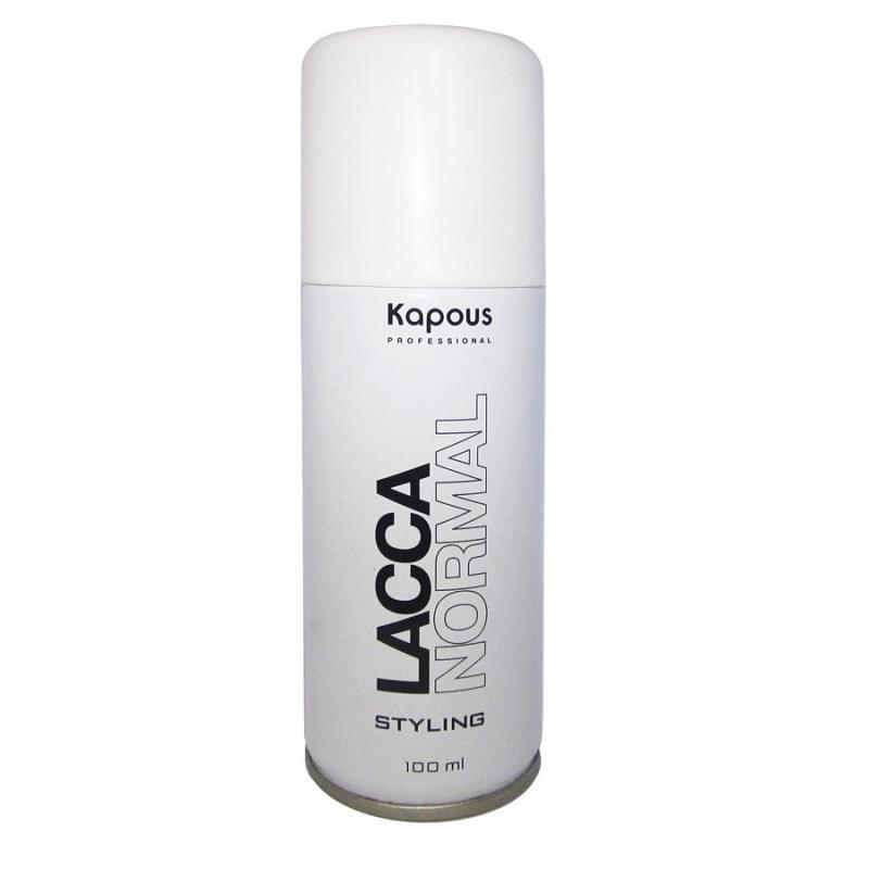 Купить Kapous Professional Лак аэрозольный для волос нормальной фиксации 100 мл