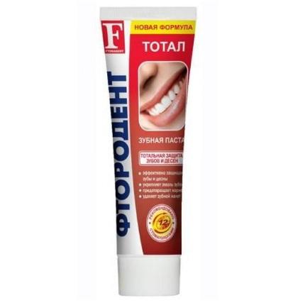 Фтородент зубная паста тотал