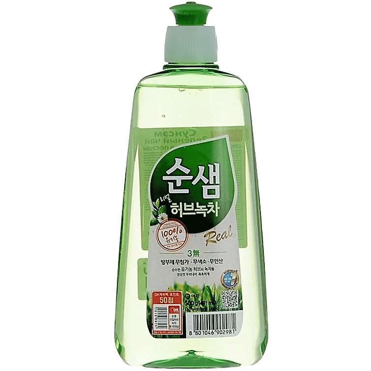 Купить KeraSys средство для мытья посуды СУНСЭМ Зеленый чай 500мл