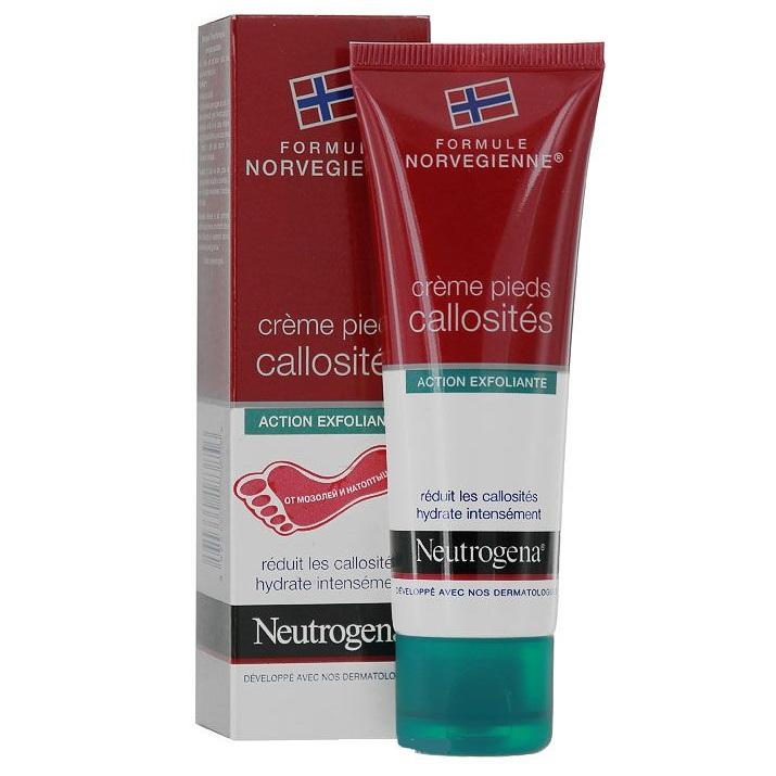 крем для ног Neutrogena от мозолей