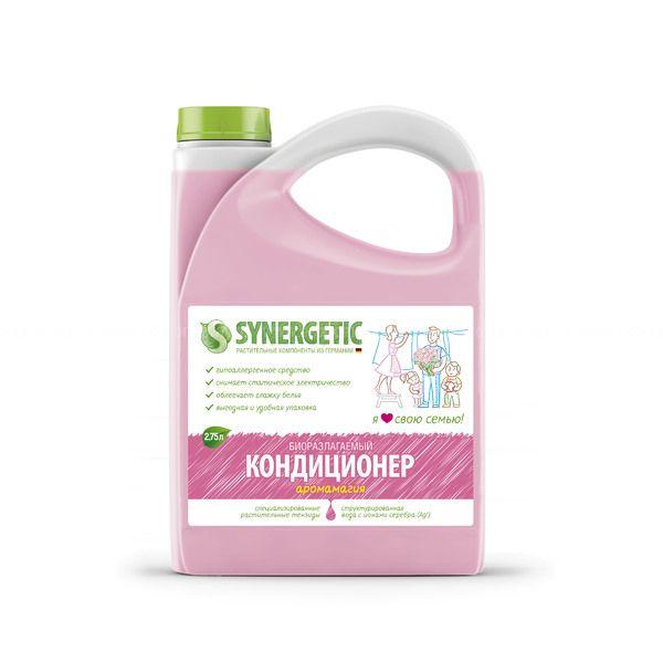 Synergetic Кондиционер для белья Аромамагия 2750 мл фото