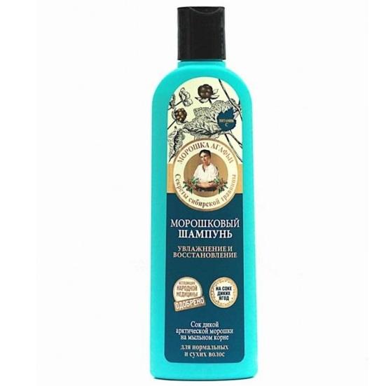 Купить Рецепты Бабушки Агафьи Шампунь для волос Морошковый увлажнение и восстановление 280мл, Рецепты бабушки Агафьи