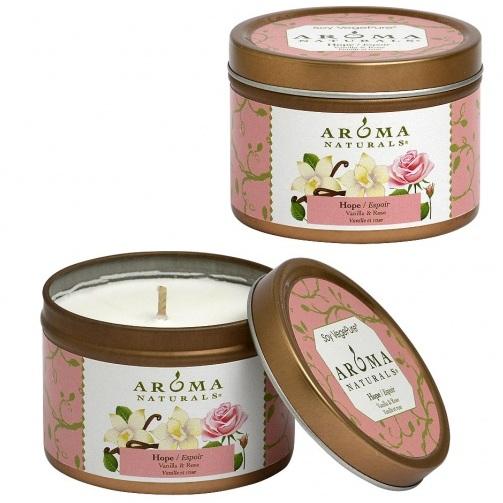 Купить Aroma Naturals Свеча Надежда 80 г банка