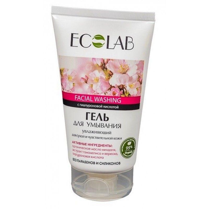 Эколаб Гель для умывания Увлажняющий для сухой и чувствительной кожи 150 мл