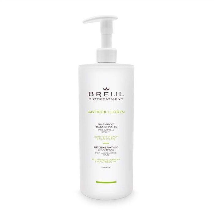 Купить Brelil Biotreatment Antipollution Регенерирующий шампунь 1000 мл, Brelil professional