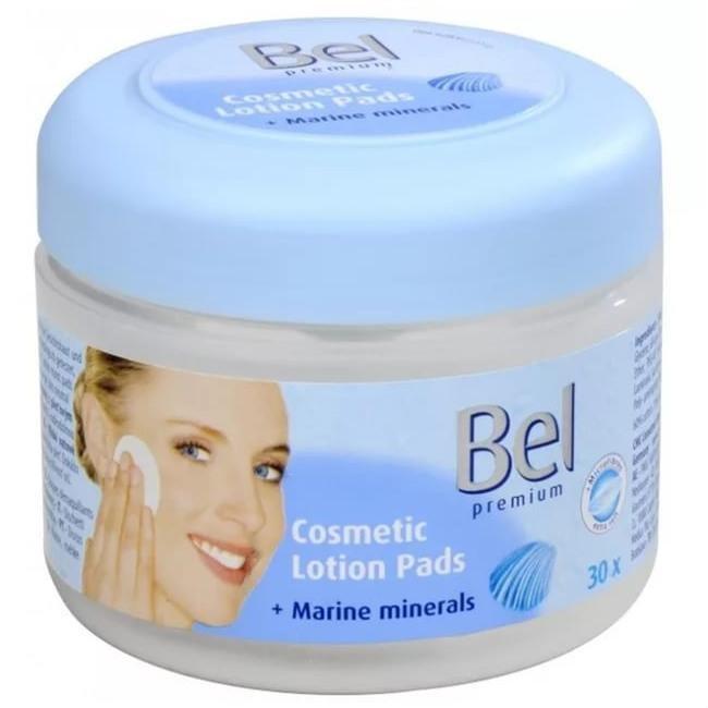 Hartmann Bel Bel premium Влажные косметические диски с Морскими минералами 30шт