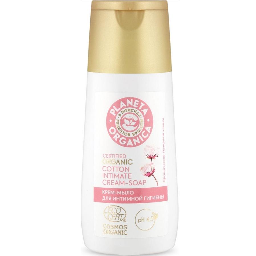 Купить Планета органика Крем-мыло для интимной гигиены 150 мл, Planeta Organica