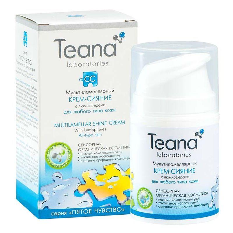 Teana/Теана Мультиламеллярный крем-сияние с люмисферами 50мл