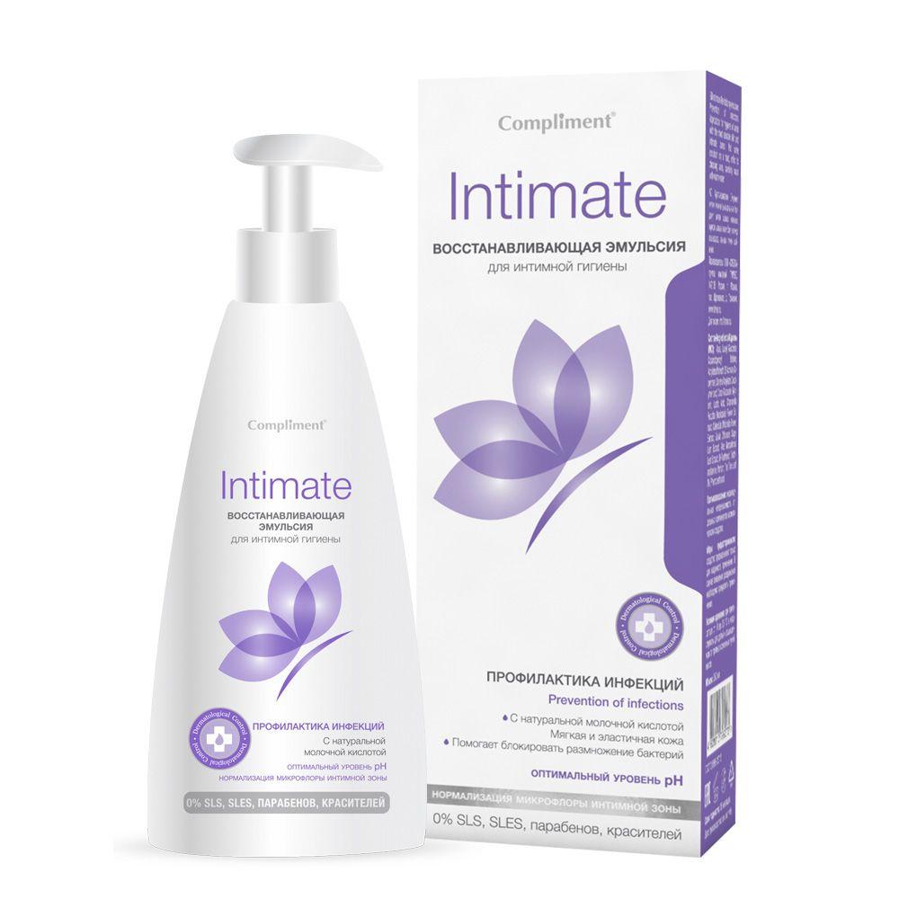 Купить Compliment Intimate Эмульсия восстанавливливающая для интимной гигиены 250мл