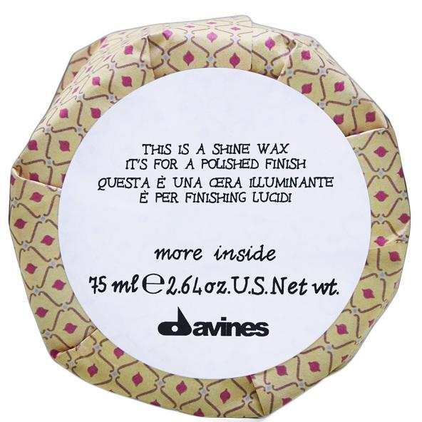 Купить Давинес (Davines) Shine Wax Воск блеск More Inside для глянцевого финиша 75мл