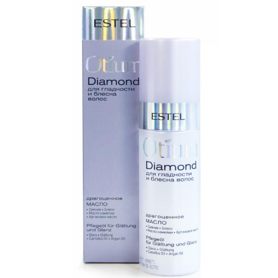 Estel Otium Diamond Масло драгоценное для гладкости и блеска волос 100 мл фото
