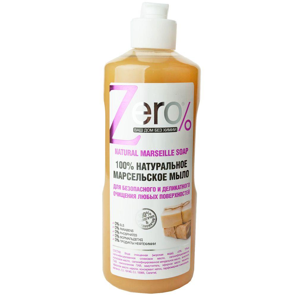 Zero Мыло для очищения всех поверхностей марсельское 500мл